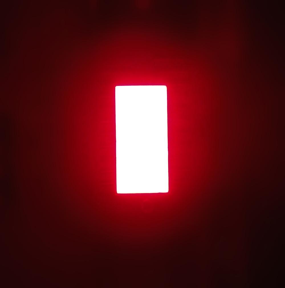 Red Green Blue White Rectangle 20x10mm led bar square single led light bar