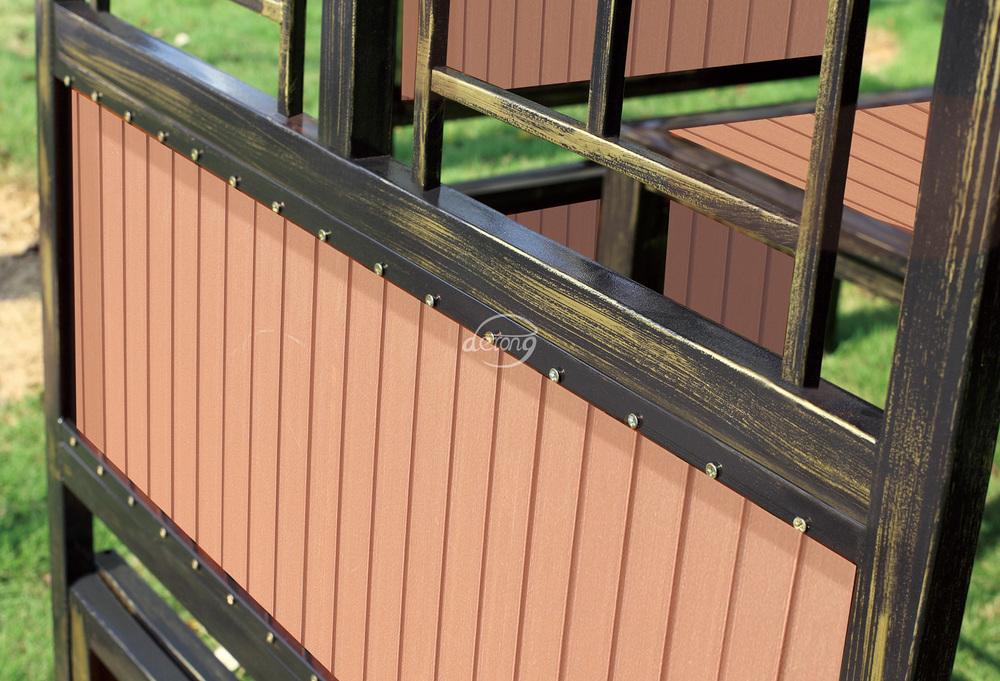 3*3 메터 저렴한 간단한 디자인 야외 정원 철 전망대 캐노피 ...