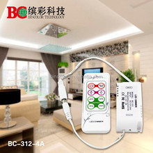 dc12-24v 4A Smart mini LED Dimmer RF remote wireless touch control for led strip single color led dimmer