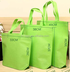 2015 Sell Top Cheap Reusable Folding Shopping Bag with three sizes