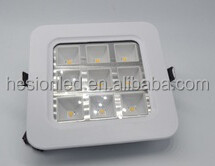 2015 new recessed ultra thin grille led panel light hot sales lux down light with lifud driver