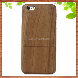 factory cheap price bamboo wooden mobile phone case for iphone 6 6s, wood case for iphone 6s plus