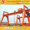 Warranty 2 years MG model double girder adjustable gantry crane