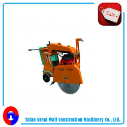 gasoline engine reinforced hydraulic concrete saw cutter
