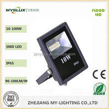 Meanwell Driver AC85-265V 10w ce rohs Ledfloodlight rechargeable led floodlight IP65 Outdoor Led Flood Light Big Sales