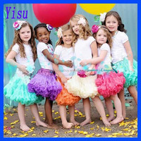 Wholesale Party clothes Fashion Fluffy Baby Girls Princess dance skirt