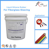 Easy operating liquid silicone rubber for Fiberglass Sleeving