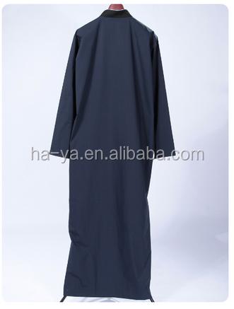 Latest Qatar Abaya/thobe Design With Fashion Embroidery For Man - Buy ThobeArabic Thobe For Men ...