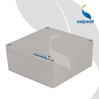 SAIP/SAIPWELL 160*160*70mm CE Approved Waterproof Aluminium Case/Aluminium Enclosure Box
