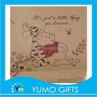 hot sale strong kraft paper bag for gifts packaging