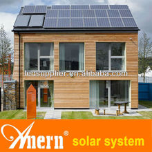 High conversion efficiency 500w solar system for home