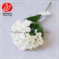 140620 china factory manufacture 2016 wedding decoration artificial flower hydrangea