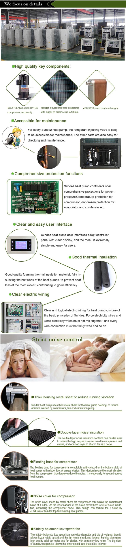 Dc Inversor Industrial Bomba De Calor Para Calefacci N  ~ Calefaccion Bomba De Calor Precio