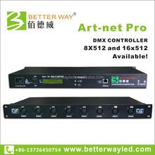Madrix compatible ARTNET USB DVI DMX 8universe controller