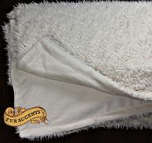 Minky Cuddle / Shaggy Microfleece/ Lambskin / Reversible Two Sided Throw Blanket