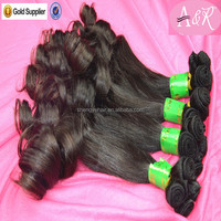 Angelbella 7A Unprocessed Human Hair Extensions Tangle Shedding Free 20 22Inch Remy Janet Yaki Human Hair Best Hair Weaving