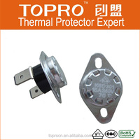 China Best Selling KSD Thermal Protect Thermostat 70 Degrees 240V/15A