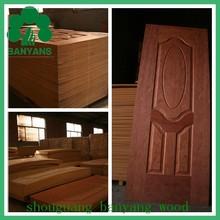 Modern design moulded MDF door skin with good prices