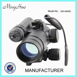 Minghao HD-6M4B, 1x30 Red Dot customized serving airsoft red laser module cross laser
