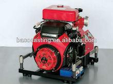 5 bar bomba de incêndio portáteis importados com motor honda, diesel bomba de incêndio