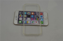 Alibaba china Ultra-thin Transparent clear soft TPU Protective Back Cover Case for Apple iPhone 6