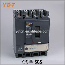 YDT electrical mccb 630a, molded case circuit breakers 4p, mcb mccb circuit breaker rccb earth leakage