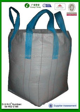 5:1 Safety Factor and Top Full Open Top Option (Filling) 1000kg sand pp jumbo bag gc01