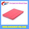 For ipad smart case, Newest Fashion Wholesale For ipad mini smart case