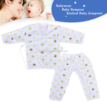 OEM 2015 new design cartoon print lovely lovely style new born baby clothes BB003