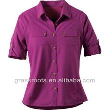 Latest plaid long shirt designs for women online shopping