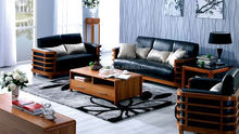 Equipped With Leather Microfiber Couch And Modular Sofa Expensive Top Brand Luxury Living Room Table Sets