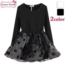 kids girls winter dresses baby girl winter dresses long sleeved maxi dress for kids
