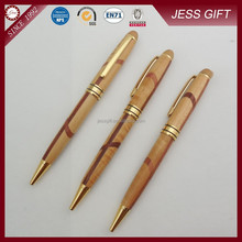 2015 Customised Twist wood pen mixed wooden pens as business gift pen