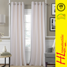 welcome ODM popular fashion embroidered sheer curtains