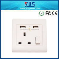 shenzhen electronic products tablet charger socket hidden wall socket camera
