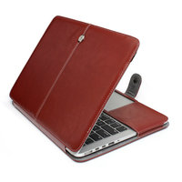 "Laptop Sleeve Leather Case For Macbook Pro 13.3"" Retina Ultra book Pouch Notebook Sleeve Bag For Mac Book"