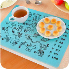 Fashionable Style Beautiful Dining Silicone Commercial Placemats