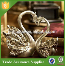 European Decoration Garden Swan Wedding Favors Gifts