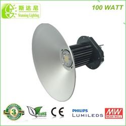 High Lumen industrial high bay led lighting 100w led highbay light replace e39 e40 500w incandescent light