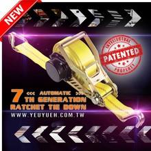 [EZ LOAD] UK 50mm Automatic & Retractable Webbing Ratchet Straps