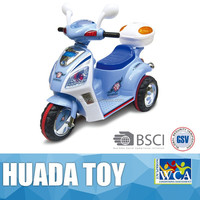 New design plastic motorcycle style kids ride on car