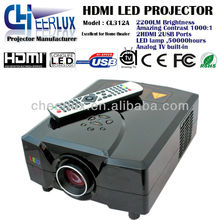 cheap projector for home theatre with led lamp and lcd technology