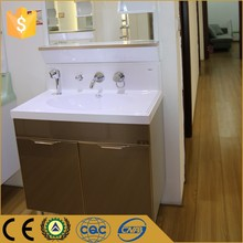 China wholesale market golden commercial damaged bathroom vanity unit for sale