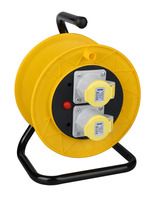 Cable reels European Cable Reels 2-Sockets VDE Cable Reels W/CEE plug&socket