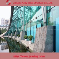 design structural stainless steel curtain wall