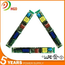 HG-505 Isolate 350ma Tube LED Driver 10W For T5 T8 T10 Tube with 5 years warranty