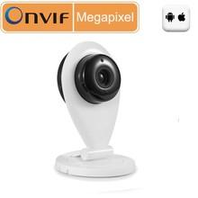 8Meters Night Vision HD 1 mp Wireless IP Camera Indoor P2P Onvif Megapixel IP Camera