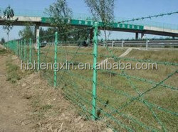 Hot dip galvanized barbed wire Fencing - The Home Depot