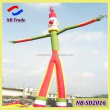 NB-SD2016 NingBang cheap inflatable clown tube man, air sky dancer outdoor