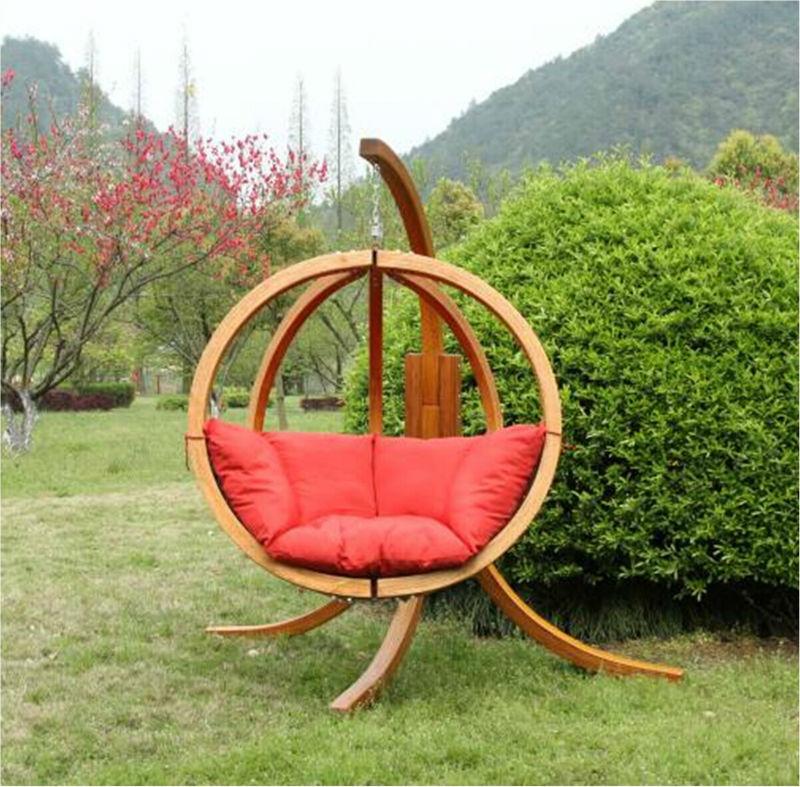 ... Stand,Wooden Swing Hammock,Wooden Swing Seat,Garden Globo Swing Chair